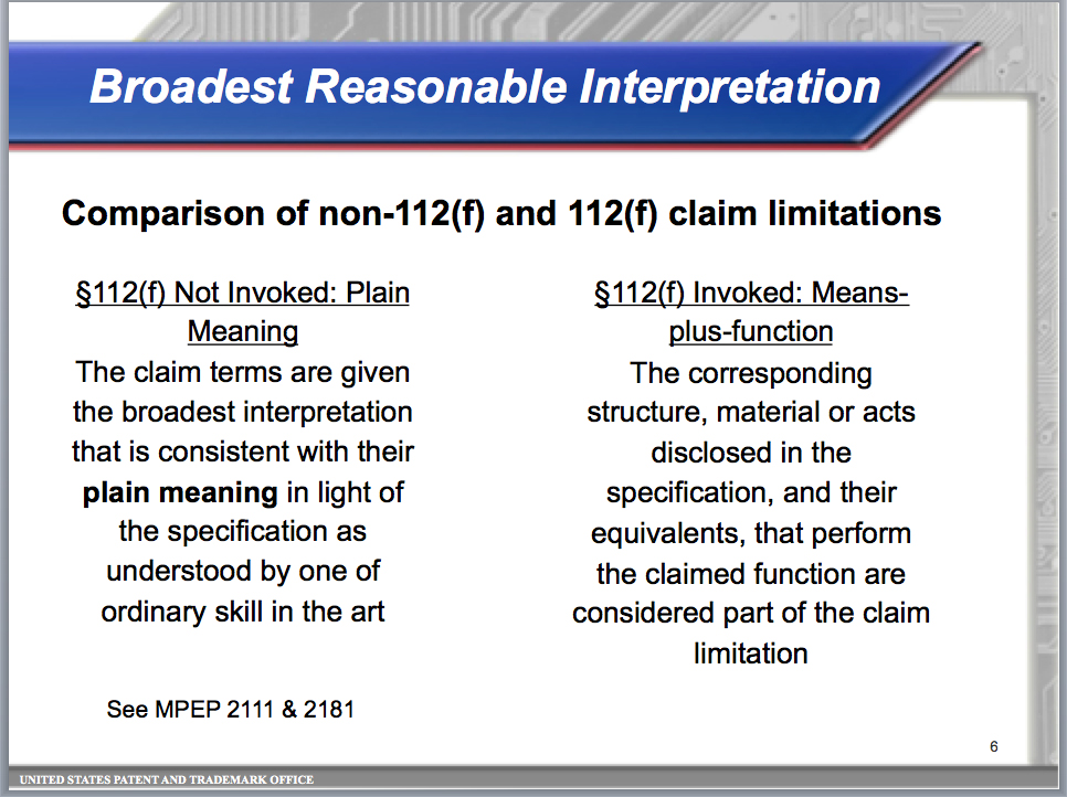 """USPTO Has Trained Its Examiners in a """"Plain Meaning of Terms"""" Initiative"""